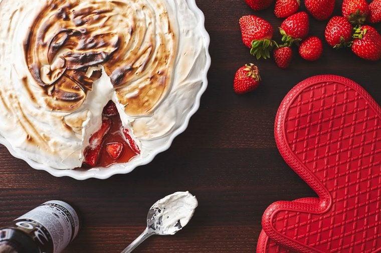 fridge-friendly recipes | Marshmallow and Strawberries Gratin