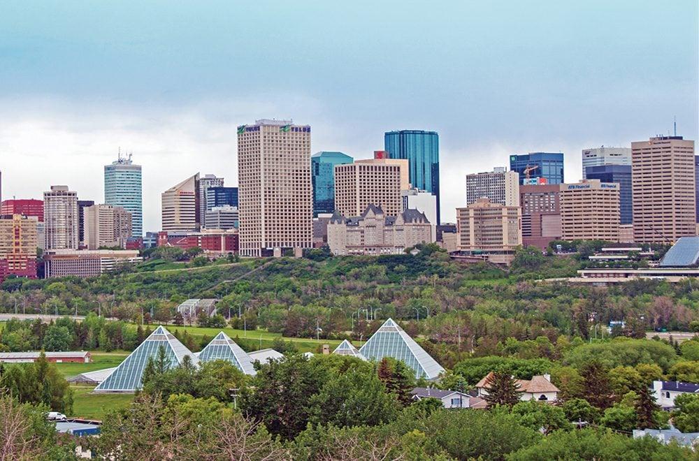 one day in Edmonton