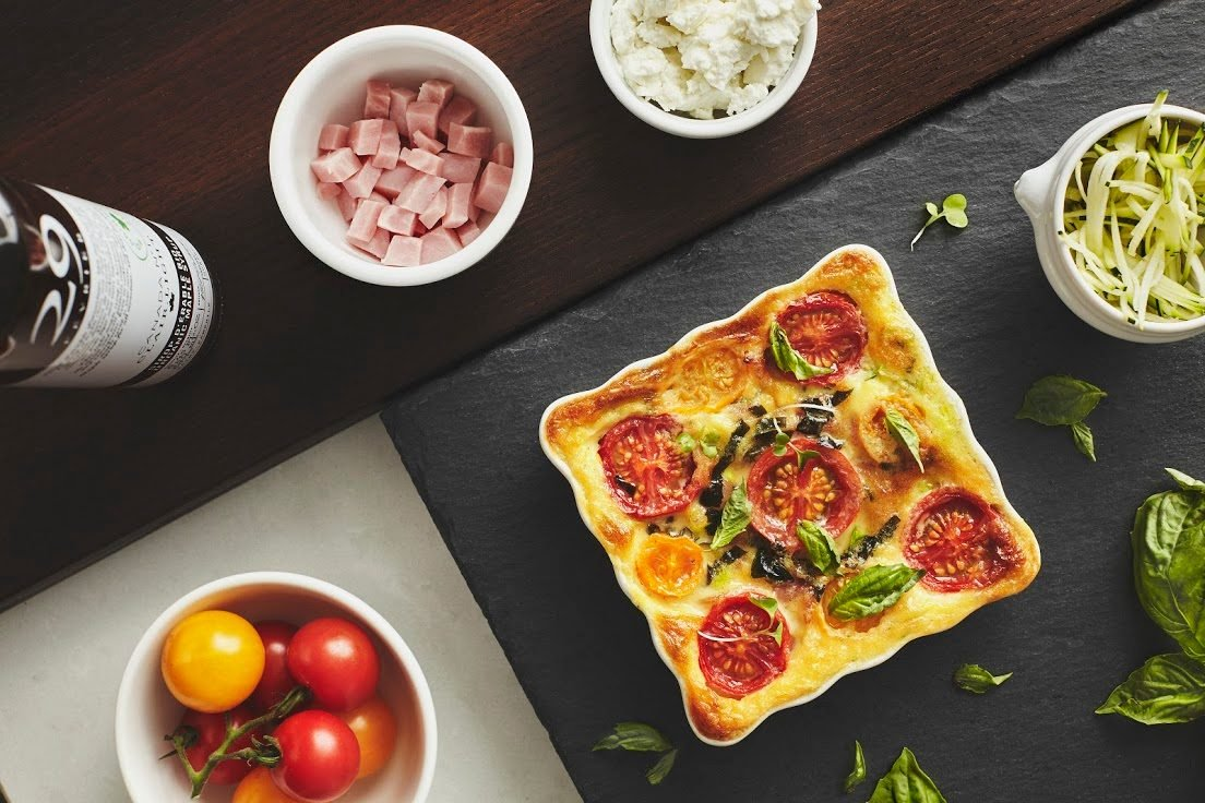 quick and easy breakfast ideas | healthy breakfast | clafoutis