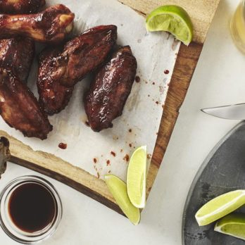 Spicy Maple Syrup Chicken Wings