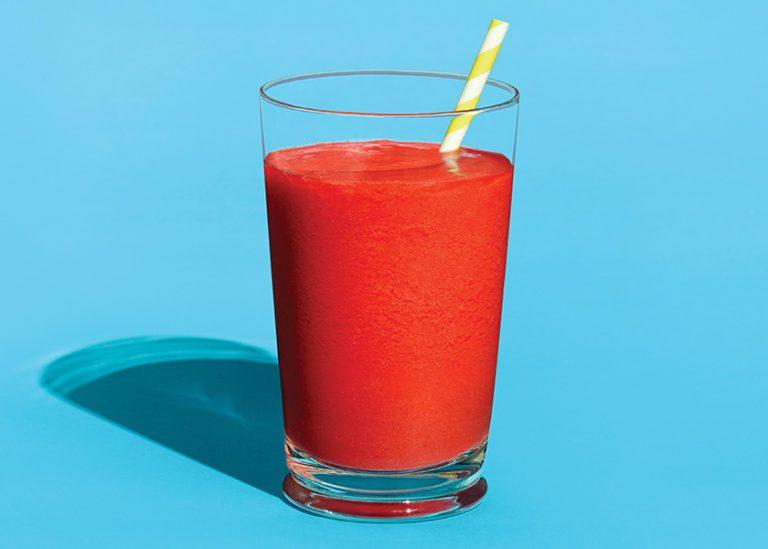 strawberry recipes | smoothie