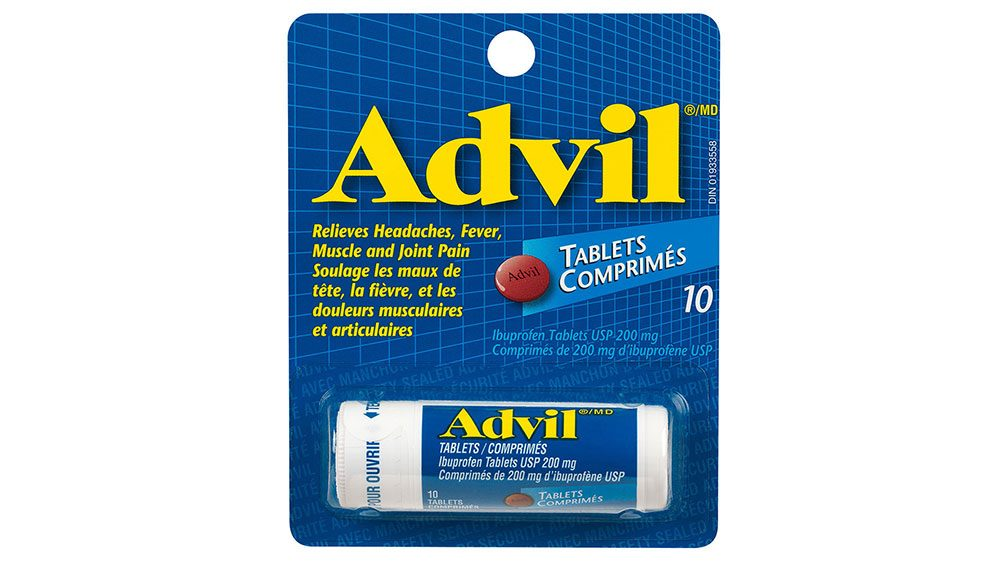 travel-size Advil
