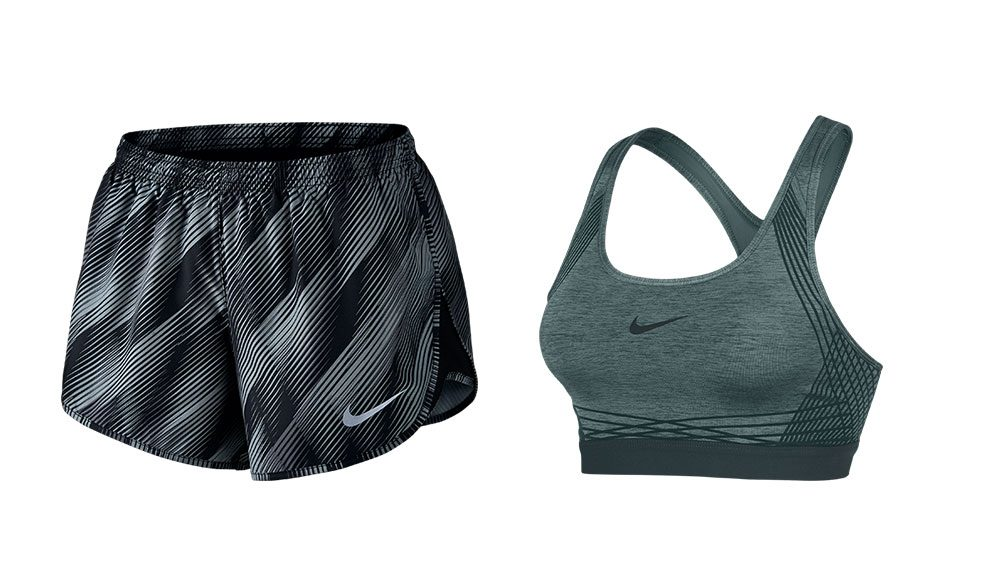 sport bra or shorts