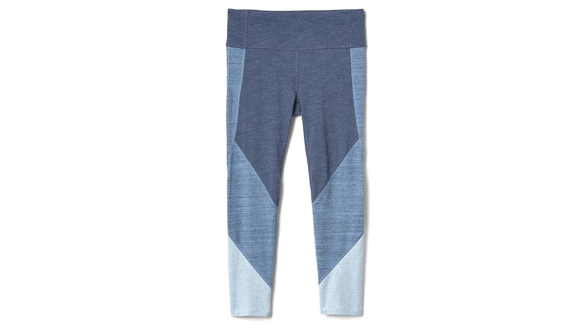 denim-inspired capris pants