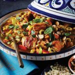 "Chicken ""Tagine"" with Herbed Orange Couscous"