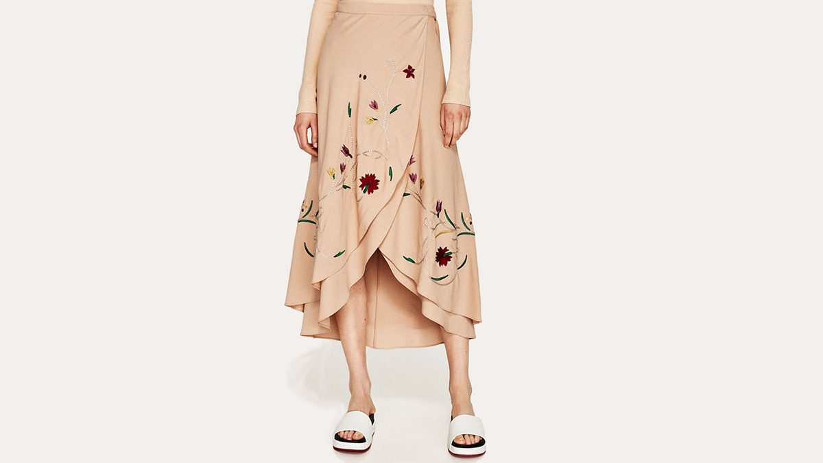embroidery fashion skirt