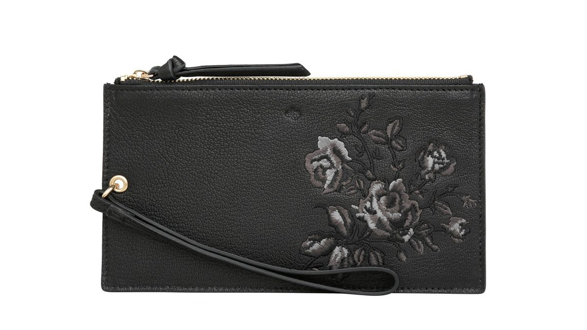 Embroidery fashion Ela clutch