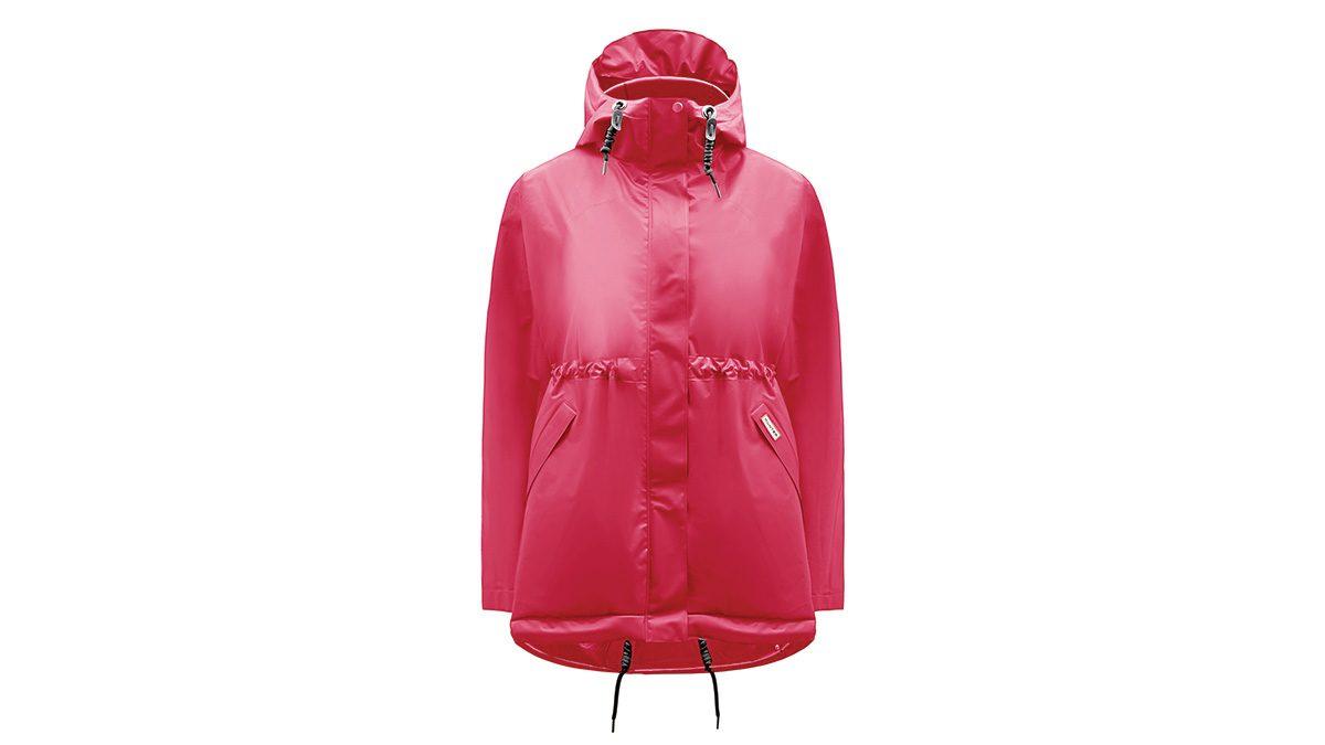 fashionable hiking jacket by Hunter