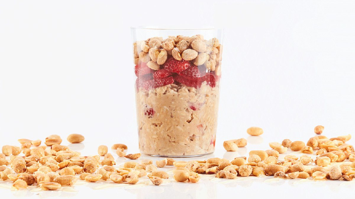 peanut butter oats