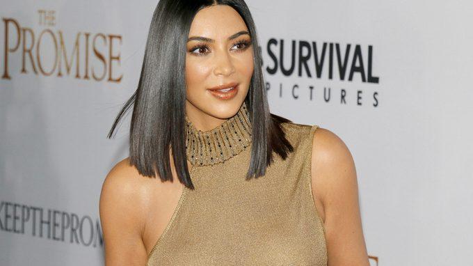 Red carpet of Kim Kardashian