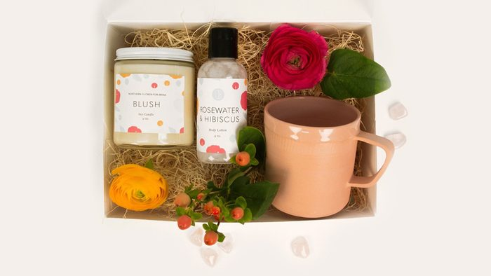 Sentimental Mother's Day Gifts: a personalized beauty box
