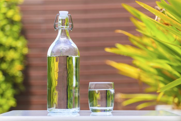 glass bottle with water_Easy Eco-Habits