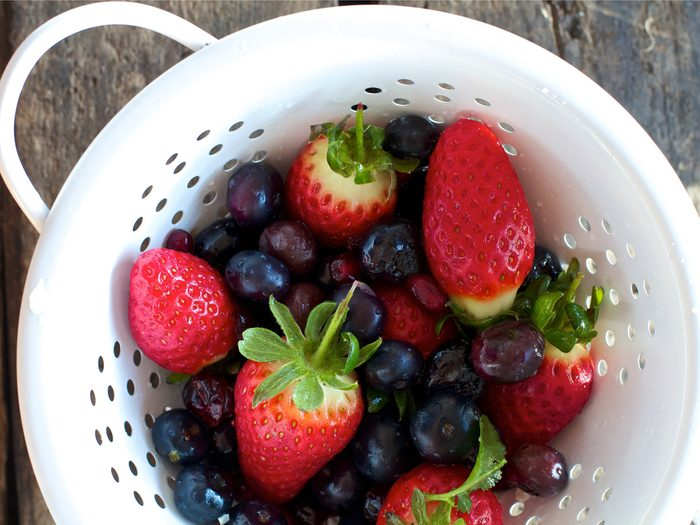 This wrinkle-fighting fruit salad recipe is an anti-aging must.