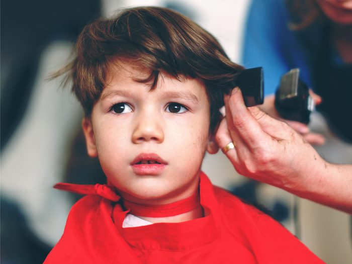 Hair stylist secret: kids' haircuts aren't child's play