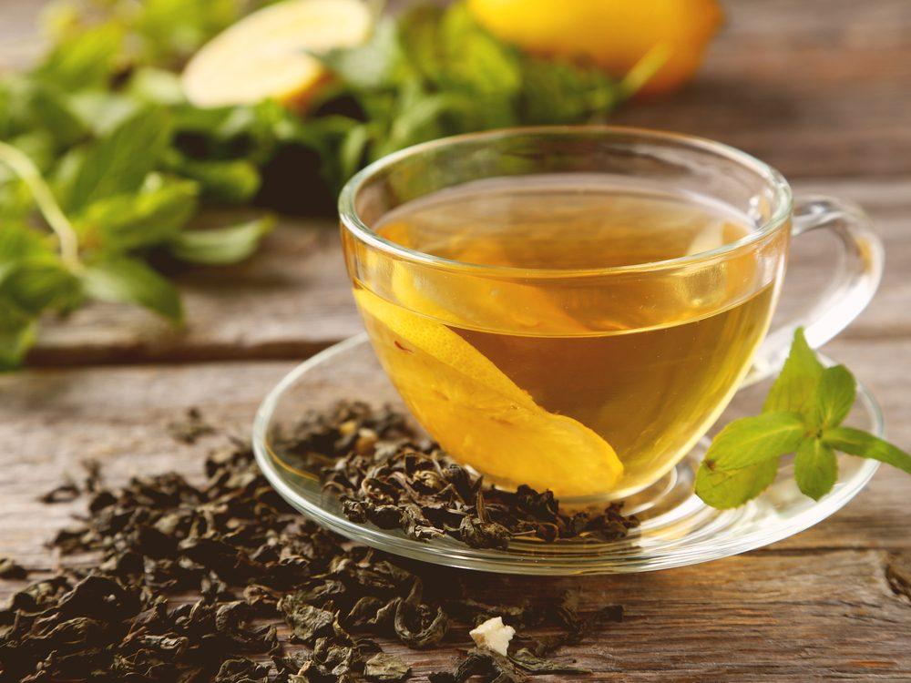 Acne home remedy: green tea