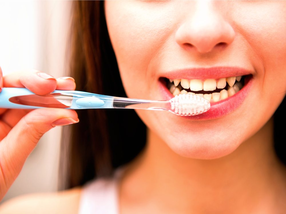 You may be breaking out with acne because of the way you brush your teeth