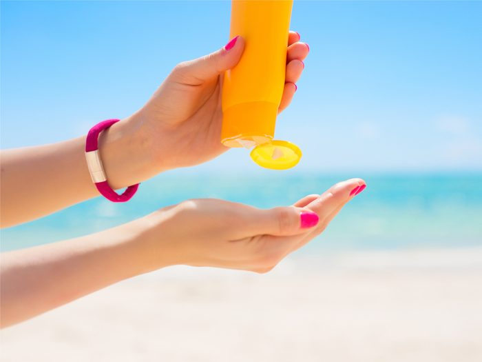 Anything above SPF 15 being a waste is a sunscreen skin care myth