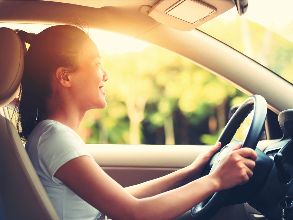 Watching for sun damage when you're behind the wheel is a trick dermatologists don't give away for free
