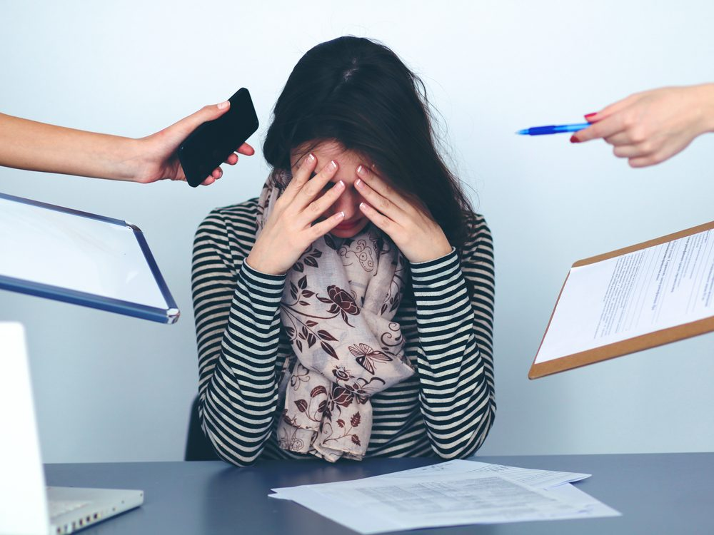 You could be tired because you're suffering from adrenal fatigue