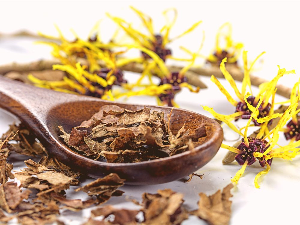 Witch hazel is one of the surprising home remedies for acne