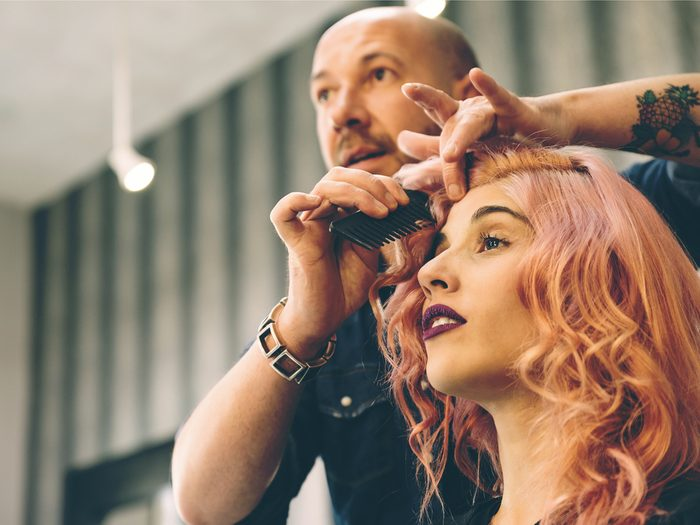 Hair stylist secret: they are not psychologists