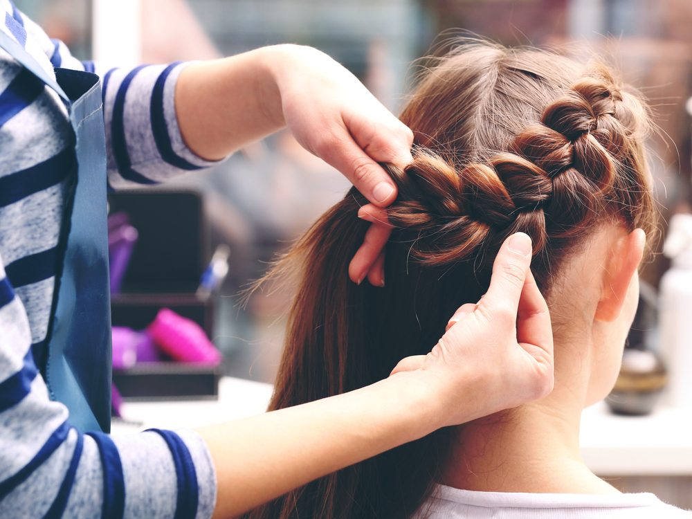 Hair stylist secret: don't show up with hair that's greasy, tangled, or smelly