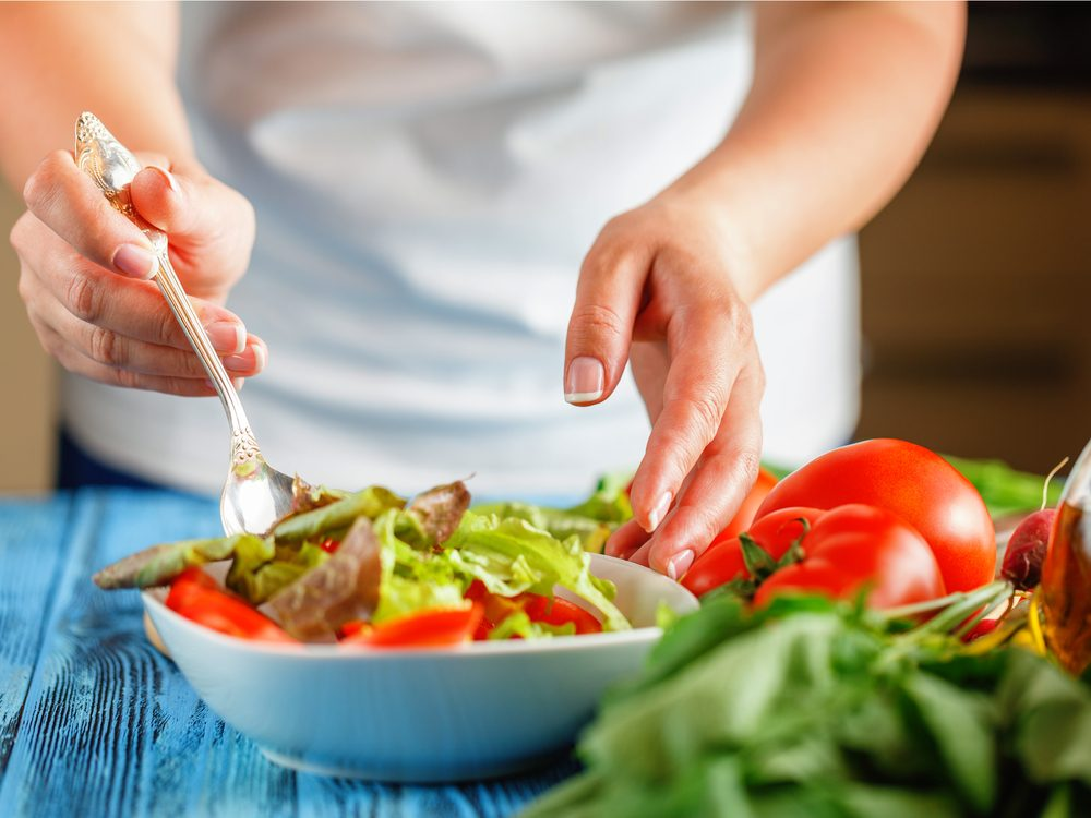 If you eat boring salads you're probably not getting enough calcium