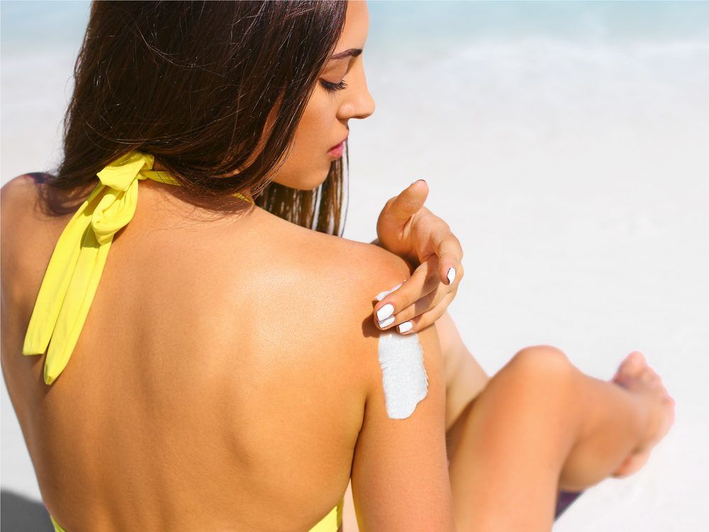 Being allergic to all sunscreens is a sunscreen skin care myth