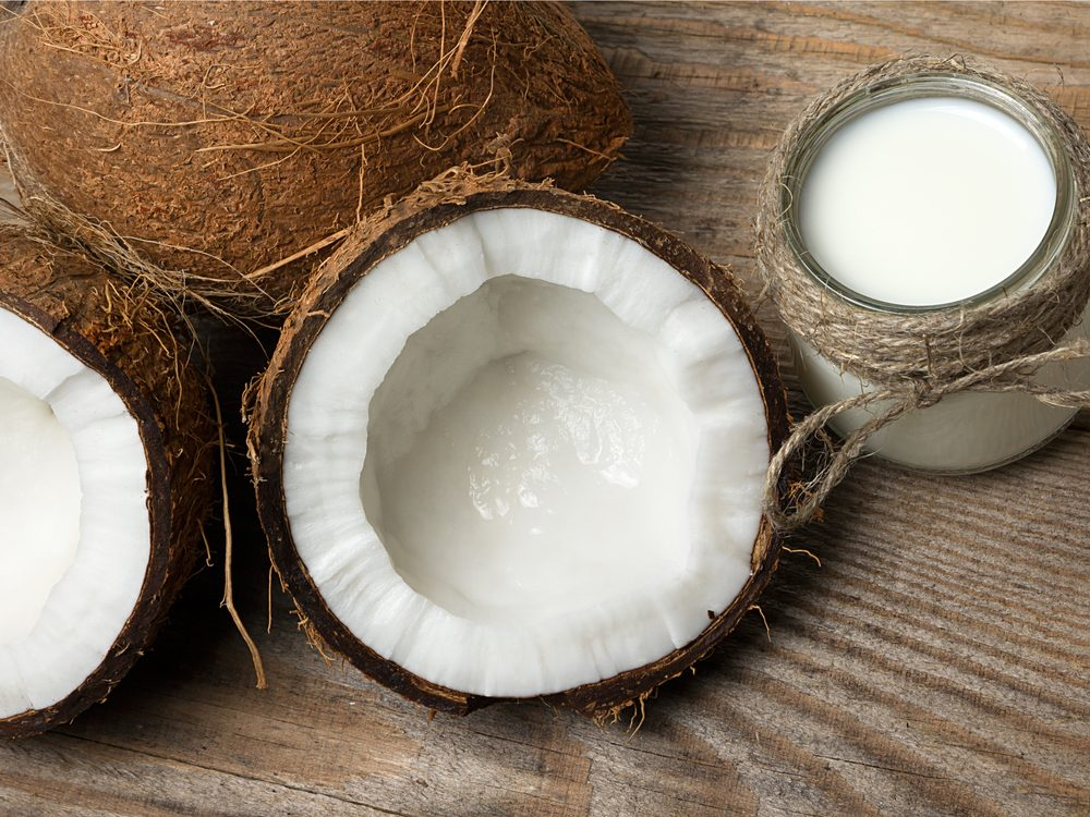 This coconut deep conditioner recipe will keep your hair smooth and hydrated.