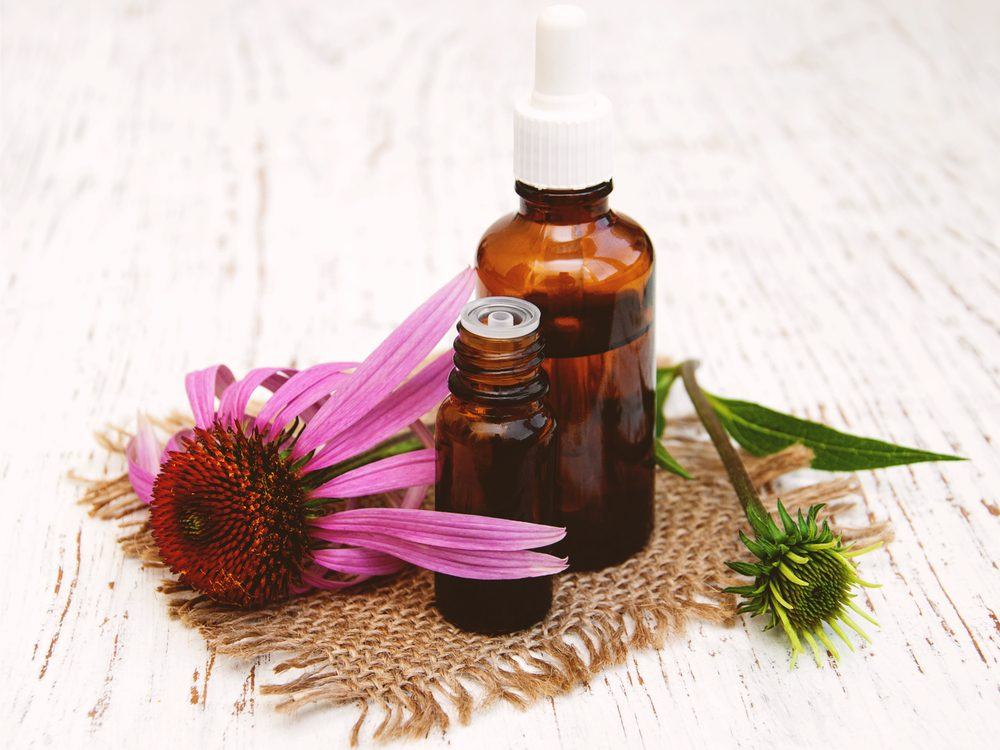 Echinacea is one of the surprising home remedies for acne