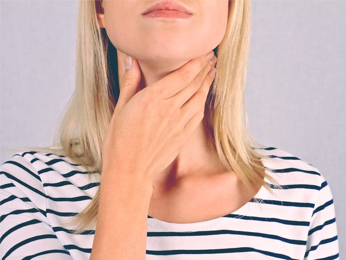You may be tired because you have a thyroid problem