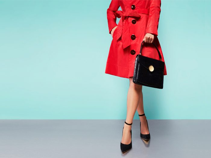 Update your outerwear to look thinner