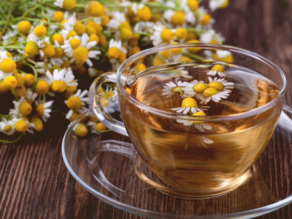 Chamomile is one of the surprising home remedies for acne