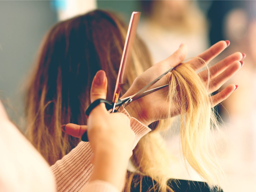 Hair stylist secret: they work hard to make you happy and want you to like it