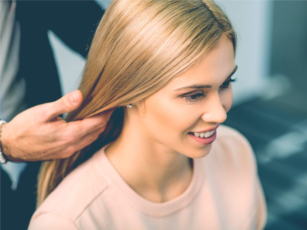 Hair stylist secret: they keep notes about you on your client card
