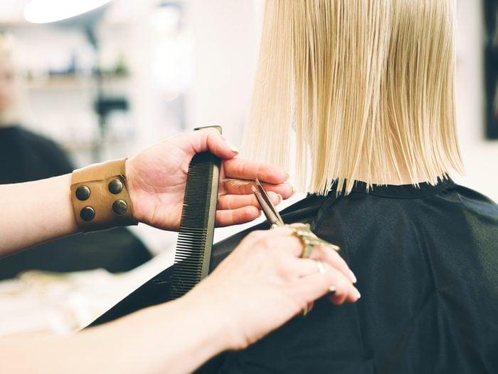 "Hair stylist secret: a trim is not ""just a trim"""