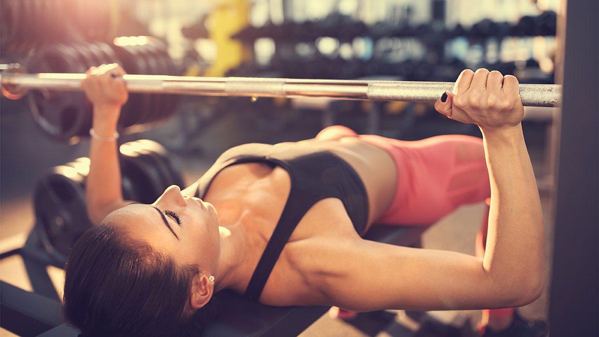 Arm Exercises, bench press