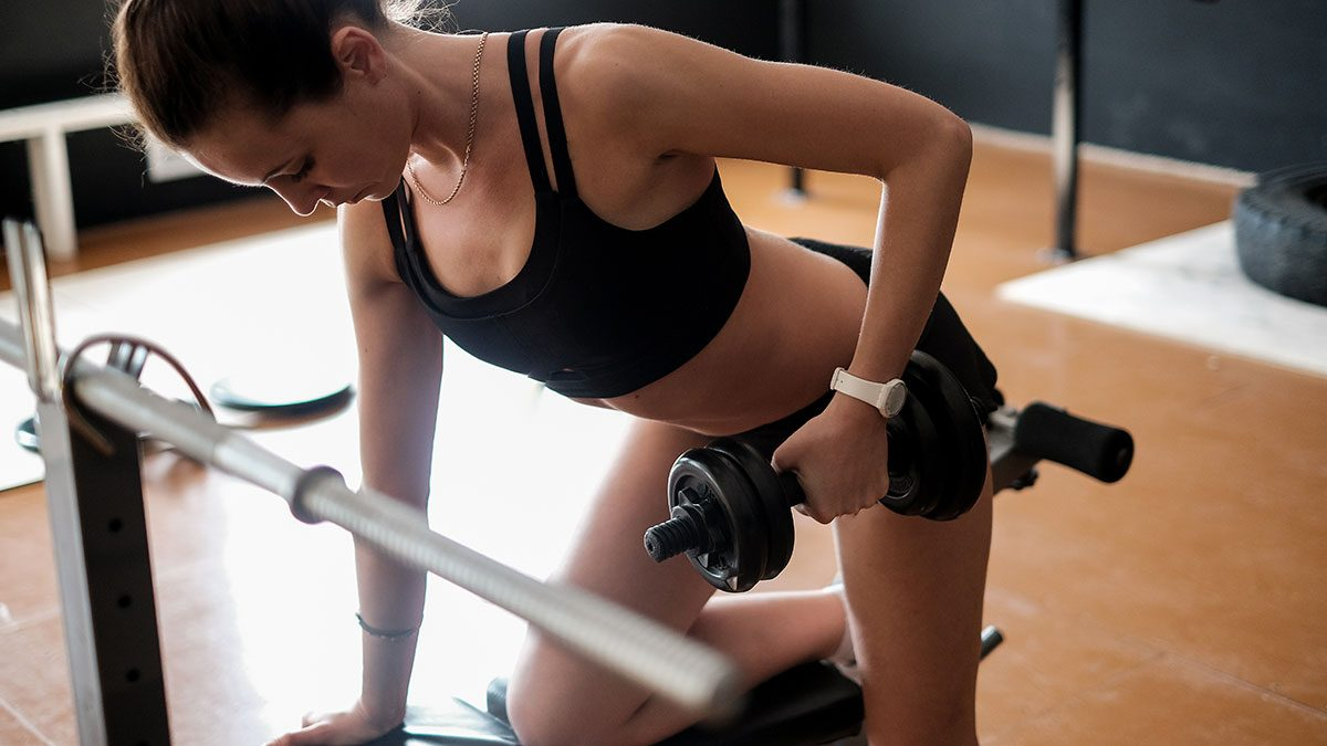 Arm Exercises, horizontal row