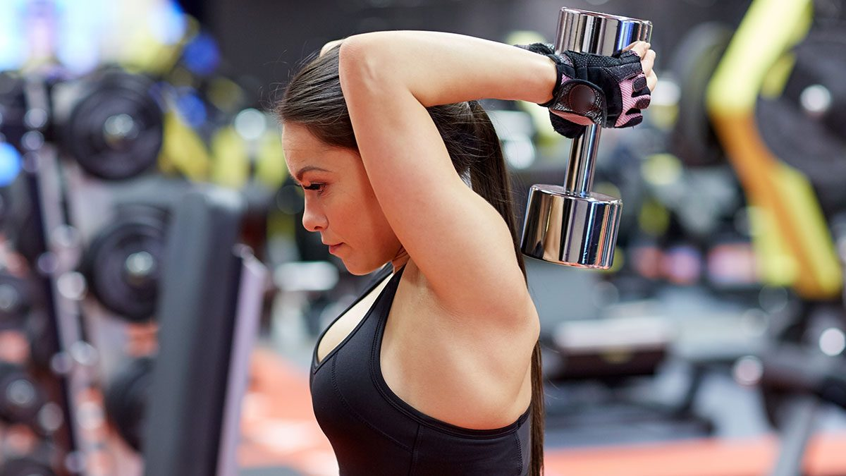 Arm Exercises, overhead extension