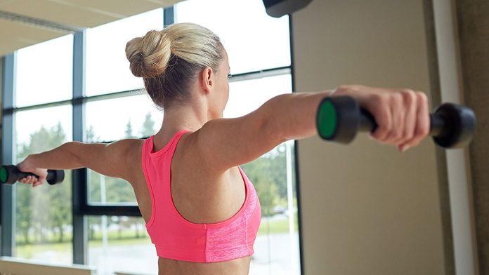 Arm Exercises, side raises
