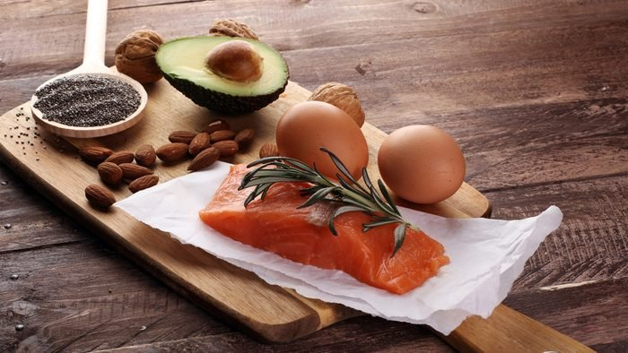 Ballerinas eat fat, including fish, nuts, vegetable oils and lean proteins