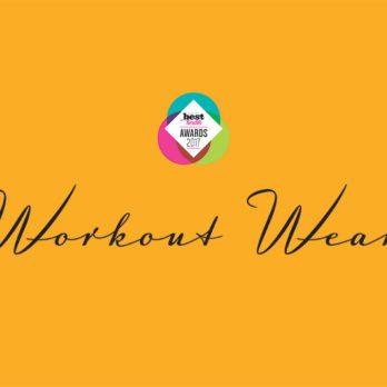 The 2017 Best Health Wellness Awards – Workout Gear