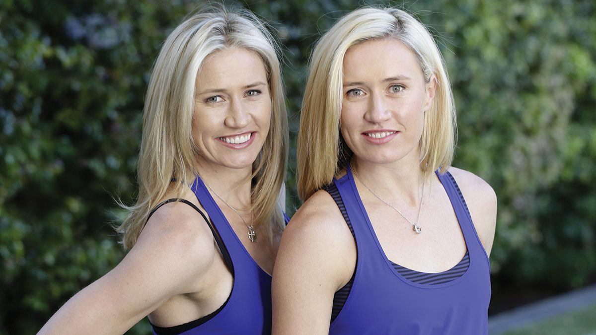 Dr Roebucks twins Zoe and Kim