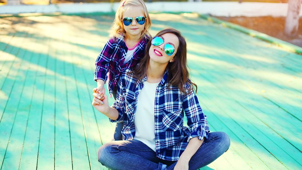 Parents dealing with anxiety, mother daughther smiling for photo