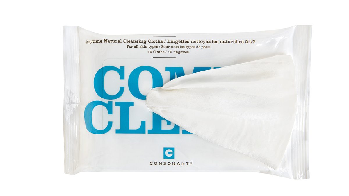 Skin Savers Consonant Face Wipes