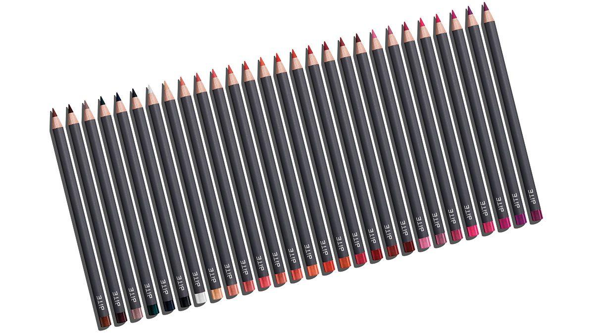 Spring 2017 lip colour, Bite Beaty lip pencils