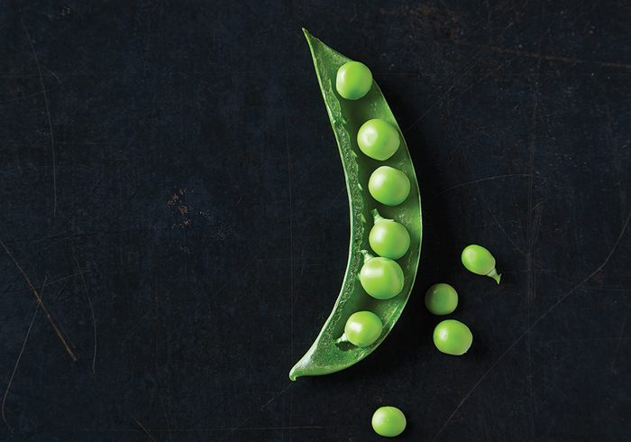 peas_cooking with peas