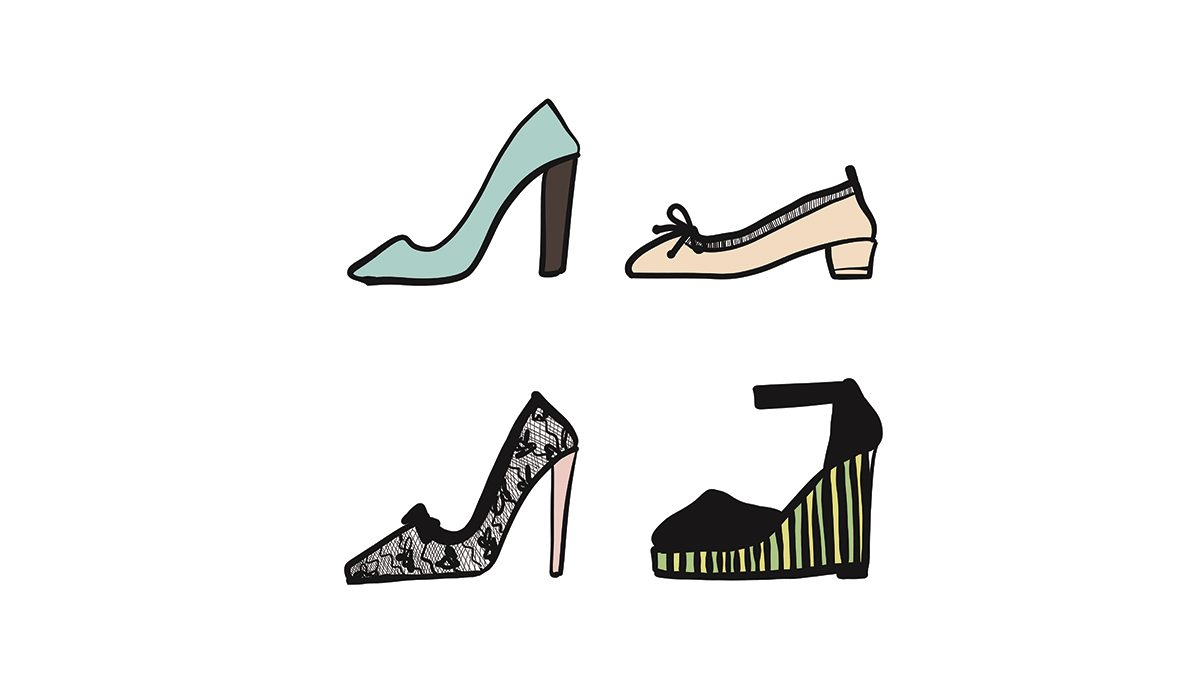 heels that we suffer to wear