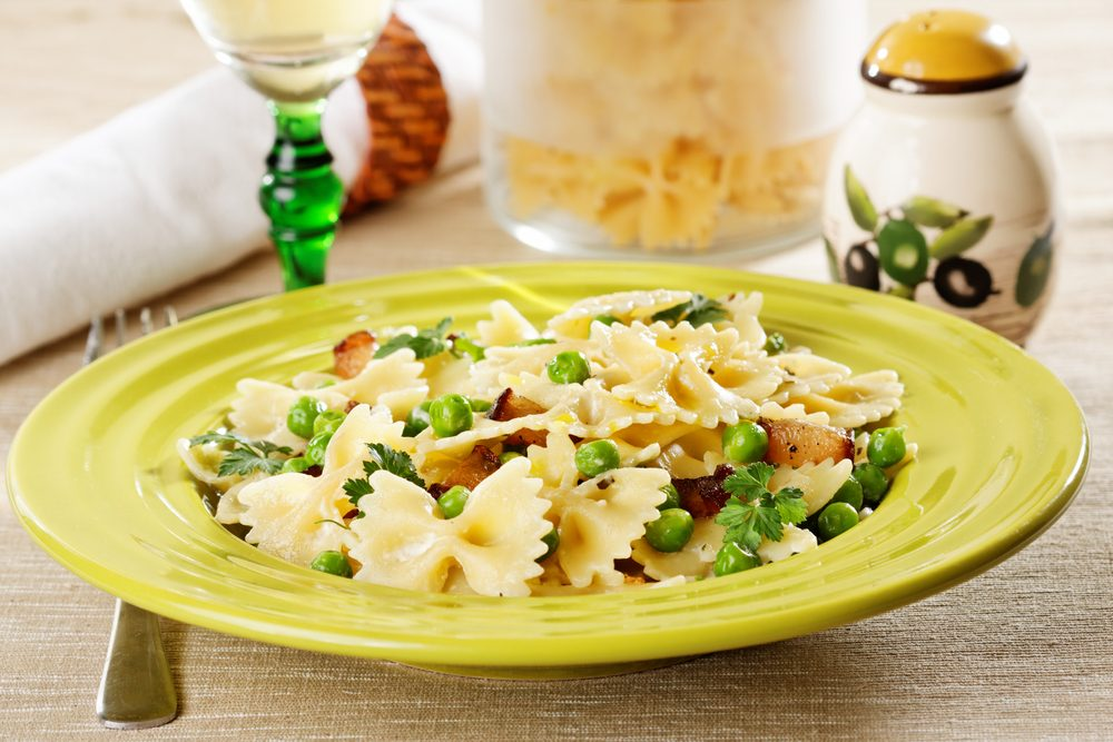 Farfalle with Peas and Mint: Your New Favourite Pasta Recipe