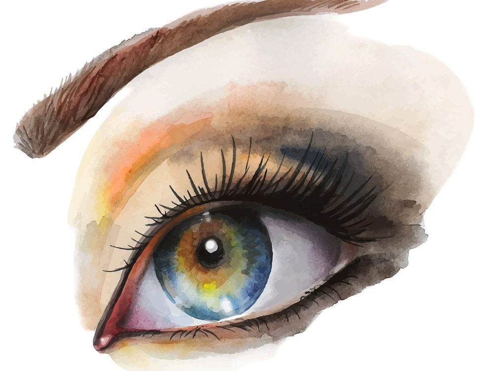 Choosing a shadow colour that is the opposite of your eye colour can make you look younger